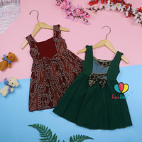 (BATIK) Dress Clairine Bayi - 3 Tahun / Baju Fashion Pesta Baju Adem