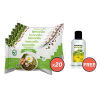 Paket Mie Instan Rasa Mie Goreng Isi 20 GRATIS Naturizer Lemongrass