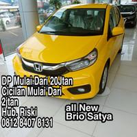 All new Honda Brio E CVT DP Ringan Angsuran Ringan