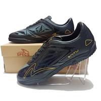 Sepatu Futsal Specs Accelerator Satu Pro IN Hitam Silver Terbaru - black gold, 39