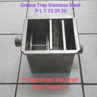 Grease Trap Stainless Steel Bak Kontrol Dapur