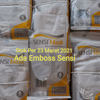 Masker Sensi Duckbill 3ply Per Pack Isi 6 pcs