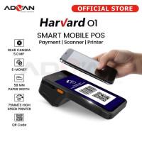 ANDROID POS ADVAN HARVARD 01 Printer Barcode 2 + 16GB Scan not Sunmi