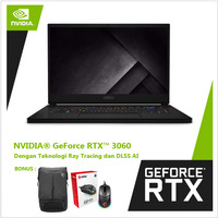 MSI GS66 Stealth 10UE GeForce RTX™3060 - i7-10870H 16GB