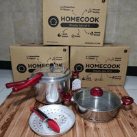 Homecook Presto set of 5 8L