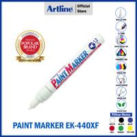 SPIDOL ARTLINE PERMANENT PAINT MARKER EK-440XF 1.2mm - White