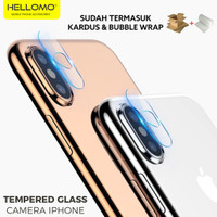 Tempered Glass Camera iPhone X / XS / XR / XS MAX / Anti Gores Kamera