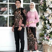 Batik couple sarimbit baju batik couple pasangan kebaya couple murah