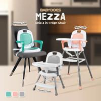 kursi makan bayi BabyDoes CH-KT 614 SN Mezza 3 in 1 High Chair