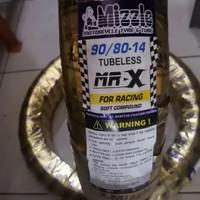 Ban Mizzle MR X 90/80-14 soft compound