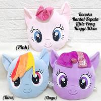 Boneka Bantal Little Pony Pink , Blue , Ungu 30cm