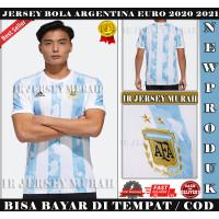 Jersey Bola Grade Ori Negara Argentina Home 2021 Import Top Quality