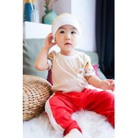 Baby Kenaz Hello Holo Collection Setelan Jogger Baju Anak Bayi Boy Gir