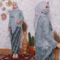 Atasan wanita/Baju Kebaya/Batik/Blouse/Pakaian/Busana/Wisuda/Muslimah