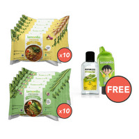 Paket Mie Kuah Komplit Isi 20 GRATIS Holder dan Naturizer Lemongrass