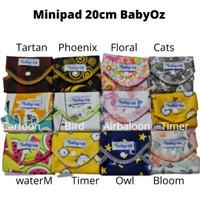 MINIPAD baby oz pembalut kain 20cm anti tembus