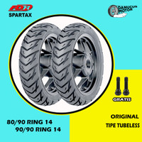 Paket Ban Motor Matic // FDR SPARTAX 80/90 - 90/90 Ring 14 Tubeless