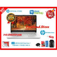 Laptop HP 14S-DK0024AU AMD A9-9425 RAM 4GB HDD 1 TB