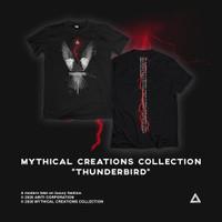 Baju T Shirt Black Thunderbird Abiti - M