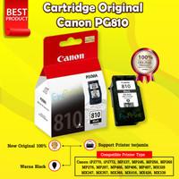Cartridge Canon 810 PG810 Tinta Printer iP2770 Mp287 Ori Original