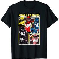 Baju Kaos Anak Power Rangers Vintage Team Battle T-Shirt
