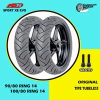 Paket Ban Motor Matic // FDR SPORT XR EVO 90/80 - 100/80 Ring 14
