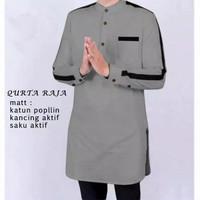 QURTA RAJA Pakaian Baju Koko Pria Qurta UK., M,L, XL,XXL