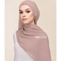 Plisket Kecil Chiffon Pashmina Plisket Premium Shawl Hijab Plisket