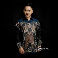 Kemeja batik kekinian/motif twin palace chicken /bahan katun adem
