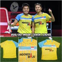 Baju Badminton Cewek GreyAp IMPORT