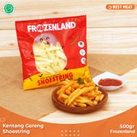 Kentang Goreng Frozenland Shoestring 500 gr
