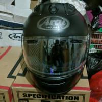 Helm Arai RX7X RX7-X Frost Black second good condition
