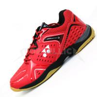 Sepatu Badminton Yonex Aero Comfort 3 Red Black