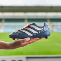 Sepatu Bola Adidas Predator Precision FG Blue white CM7911