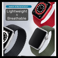 Special Price Solo Braided Loop Nylon Strap Apple Watch 38Mm 40Mm 42Mm