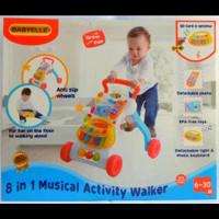 Baby Elle 8 in 1 activity Walker