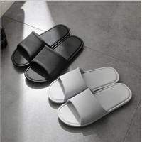 Sandal Rumah Sandal Hotel Pria Motif Polos Elegan