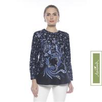 Agrapana Baju Atasan Blouse Batik Wanita Couple Modern Abhitah