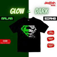 Baju Pakaian Kaos Anak Laki Laki Sablon Glow In The Dark Superman