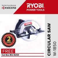 Ryobi Circular Saw W-1850 / Mesin Gergaji Listrik - FREE Tool Box B250