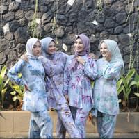 DYN Clothingline One Set Yuna Pajamas | Piyama Rayon