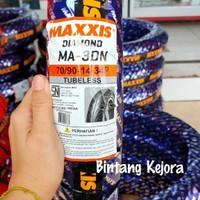 BAN LUAR MAXXIS TUBELESS TUBLES DIAMOND 70 90 14 BAN ALL MATIC BEAT