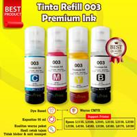 Tinta 003 Premium Refill Printer Epson L1110 L3110 L3150 L4150 L6190