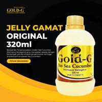 Jelly Jely Jelli Jeli Gamat Gold G GNE 320ml / 320 ml Asli / Original