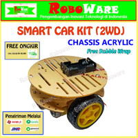 Smart Car 2WD Set Kit DIY Chassis Arduino Chasis Robot Tracer