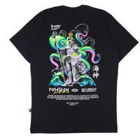 KREMLIN Mythology V.2 T-shirt Kaos Hitam - Poseidon - Black