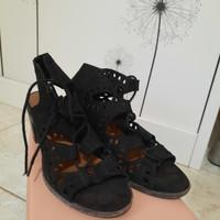 sandal heels wanita hak tahu