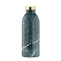 Botol Minum 24Bottles Clima 500ml Green Marble Tumbler Steel Stainless