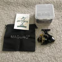 Reel Pancing MAGURO Gravel BG 800 Reel Mini Power Handel Reel UL Murah