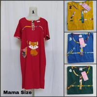 Daster Forever Mama Size Tangan / Baju Tidur Wanita